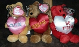 Set of 3 Ty Valenteenies - You're Cute,  Kiss Me and Will You be Mine w ... - $19.99