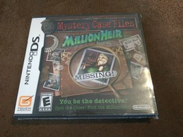 Mystery Case Files: MillionHeir (Nintendo DS, 2008) Rated E Detective Sleuth NIP - $12.99