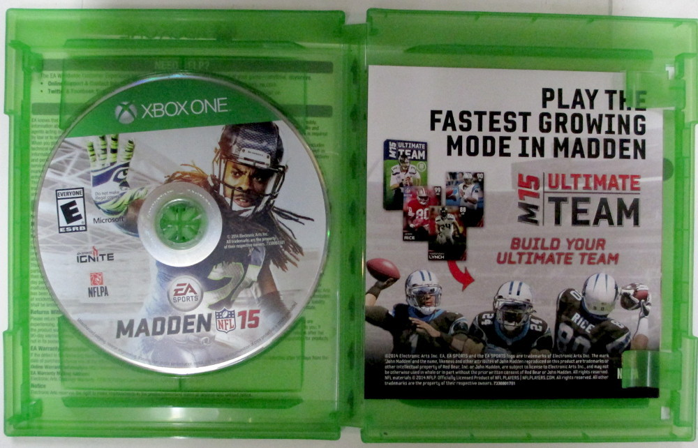Microsoft Game Xbox one - madden nfl 15