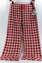 Woolrich Pemberton Lounge Pant L Women's Sleepwear Red/Black/White Plaid NWT - $24.99