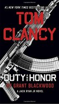 Tom Clancy Duty and Honor (A Jack Ryan Jr. Novel) [Paperback] Blackwood, Grant image 1