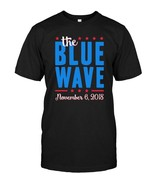 Blue Wave Midterm Election Democrat Voting Tshirt - $17.99+