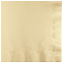 3 Ply Lunch Napkins Ivory/Case of 500 - £31.45 GBP