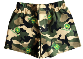 Boy Toddler Camouflage Potty Training Boxer Cover Shorts John Deere Unde... - $13.99