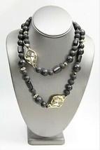 ESTATE DESIGNER Jewelry ALEXIS BITTAR BLACK CORAL STATEMENT NECKLACE - $225.00