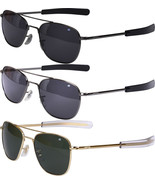 AO Eyewear Polarized 52MM US Air Force Pilots Sunglasses Aviators with Case - $229.00