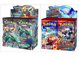 Pokemon TCG Sun & Moon Celestial Storm + Primal Clash Booster Box Bundle - $209.99