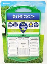 Panasonic Eneloop Rechargeable Battery Kit Charger BQ-CC75 - $36.95