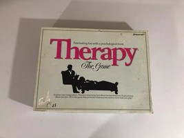 "1986 Therapy: The Game by Pressman ""Fun with a Psychological Twist"" - $18.49"