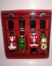 """Boston Warehouse """"Night Before Christmas"""" Spreaders - Santa,Elf,Deer & M... - $16.99"""