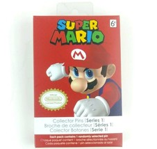 Nintendo Super Mario Enamel Collector Mystery Pins Series 1 Official Lic... - $21.56