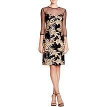 NWT JS Collections Illusion Neck Sequin Dress Size 4 - $1.464,07 MXN