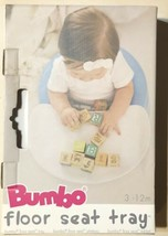 Bumbo Baby Chair Tray ONLY White Open Box - $19.70