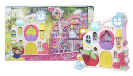 "Disney Princess Little Kingdom Play 'n Carry Castle with Cinderella 3"" D... - $15.88"