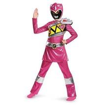 Disguise Deluxe Power Ranger Pink Dino Charge Girls Kid Halloween Costum... - $34.95