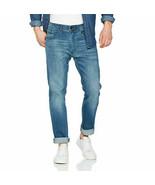 Tommy Hilfiger Hombre Slater Straight Jeans Azul Talla 28W 34L - $55.21