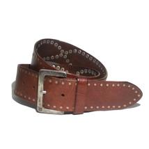 Lauren Ralph Lauren Women Leather Belt Size M (29-33) Brown 47mm Wide - $29.05