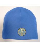 Adidas NBA Denver Nuggets Blue Knit Beanie Skull Cap Youth Boys 8-20 NWT - $16.33