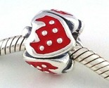 Authentic Pandora Sweet Strawberry Red Sterling Silver Bead Charm 791091EN09 New
