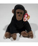 "RETIRED TY CONGO THE GORILLA 6"" BEANIE BABIES BABY 1996 - $4.94"