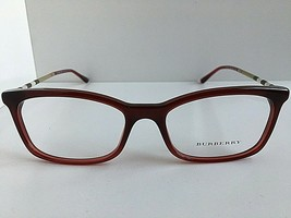 New BURBERRY B22433625 53mm Burgundy Cats Eye Rx Women's Eyeglasses Fram... - $129.99
