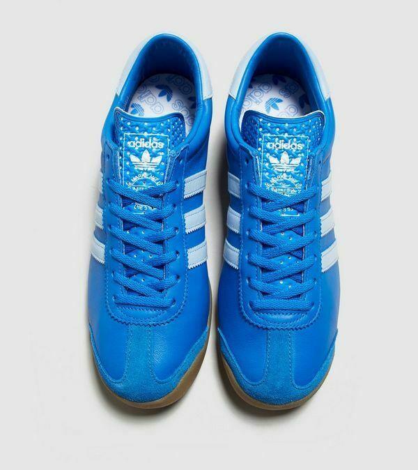 adidas Originals Zurich Blue / White  Mens Leather Trainers image 4
