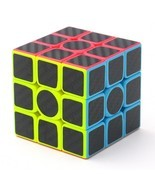"Carbon Fiber Sticker Speed 3x3x3 Magic Magico Rubik""s Cube Fidget Cube ... - $10.43"