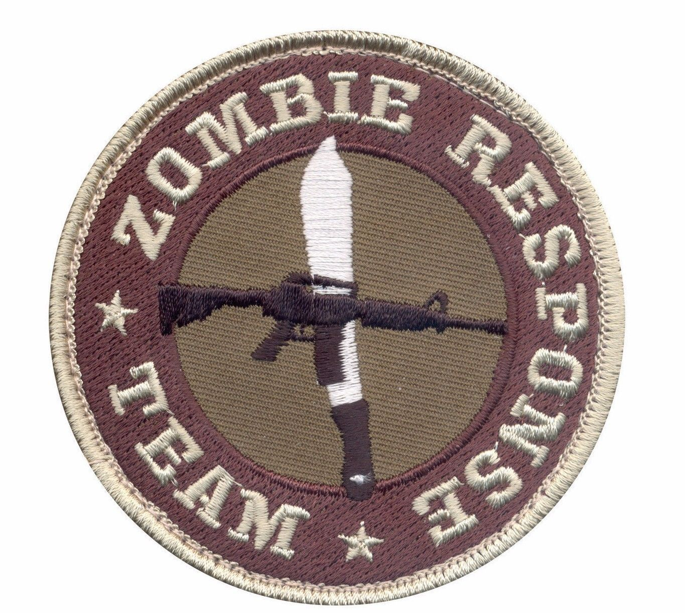 Primary image for MILITARY TACTICAL ZOMBIE RESPONSE TEAM HOOK & LOOP EMBROIDERED PATCH