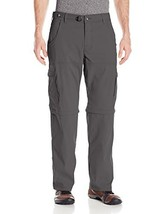 "prAna Men's Stretch Zion Convertible 30"", Charcoal, 28 - $102.93"