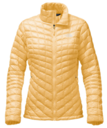 The North Face  WOMEN'S THERMOBALL™ FULL ZIP JACKET,  GOLDEN HAZE - $129.99
