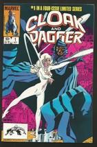 Cloak and Dagger #1 VF/+ Marvel Comics 1983 Super High Grade 1st print 1stSeries - $49.00