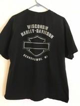 Harley-Davidson Motor T Shirt Men's Sz XL Oconomowoc Wisconsin 110th Ann... - $71.25