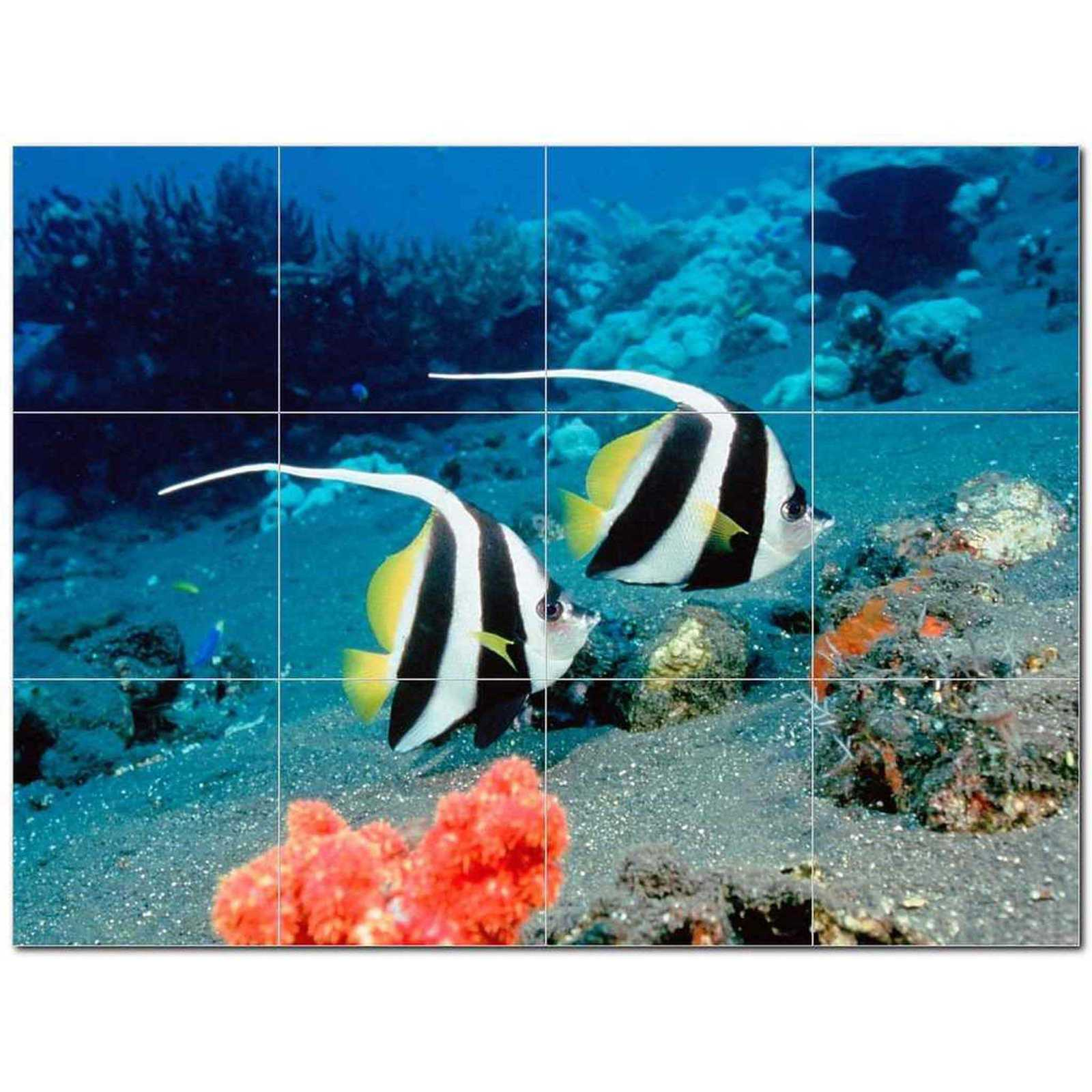 Primary image for Sealife Photo Ceramic Tile Mural Kitchen Backsplash Bathroom Shower BAZ405779