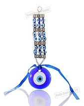Body_soul_n_spirit Blue Beads Glass Greek Turkish Evil Eye Wall Hanging ... - $9.89