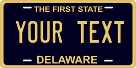 Delaware 1970 License Plate Personalized Custom Auto Bike Motorcycle Mop... - $10.99+