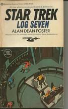 Star Trek Log 7 ORIGINAL Vintage 1976 Paperback Book Ballantine Alan D F... - $19.79