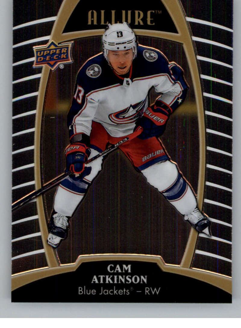 Primary image for 2019-20 Upper Deck Allure #18 Cam Atkinson Blue Jackets