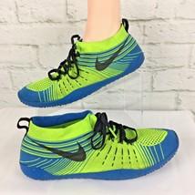 Nike Free Hyperfeel TR Trainer Volt Photo Blue Green 638073 704 Sz 9.5 R... - £53.52 GBP