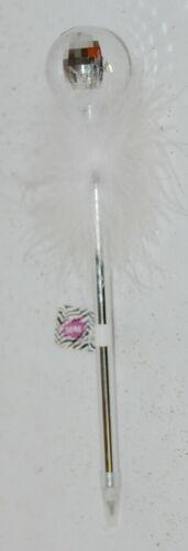 3C4G 57196 Silver Disco Feather Ball Pen 8 plus
