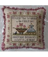 The Flower Gatherer cross stitch chart Abby Rose Designs - $6.50