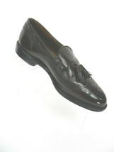 Allen Edmonds 9.5 Mens Dress Shoes Tassel Loafers Manchester Burgundy Brown - $79.19
