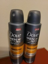 2 Dove Men + Care Dry Spray Perspirant Deodorant SportCare Comfort 3.8oz Exp2022 - $9.90