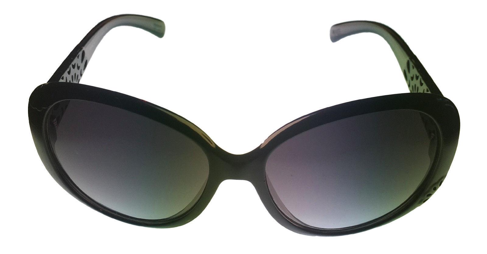Smoke Gradient Lens 19377 538 Clear  Fashion Wrap Esprit Sunglass Black