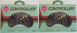 2 NEU Controller Spiel Control Pad Sega Genesis von Tomee NEU in Boxen - $11.96