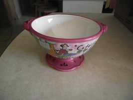 Cerified International Cafe Girl all purpose bowl 1 available - $6.88