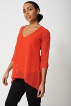 Split Back Sheer Blouse Sizes : 6, 8, 10, 12, 14, 16, 18 Brand New - $14.11