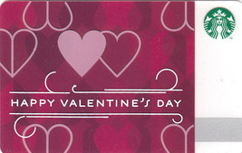Starbucks 2014 Happy Valentine's Day Collectible Gift Card New No Value - $1.99