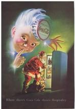 1948 Coca Cola SANTA Claus refrigerator & SPRITE Print Ad  - $14.99
