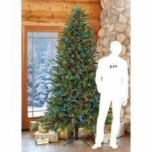 7.5′ Pre-Lit LED Christmas Tree Surebright Dual Color EZ Connect image 5