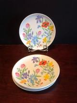 "Heinrich H&C Selb Primavera 6 3/8"" Bread & Butter Plate Lot Of 4 Gentle ... - $19.95"